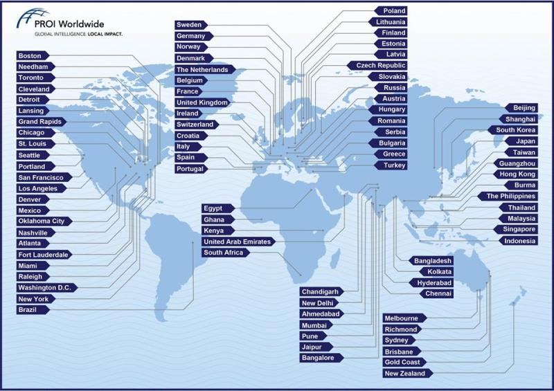 PROI-map