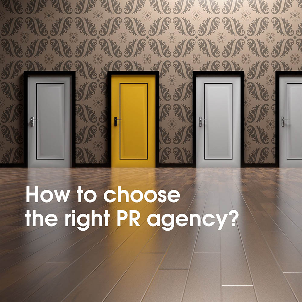 How to choose PR Agency