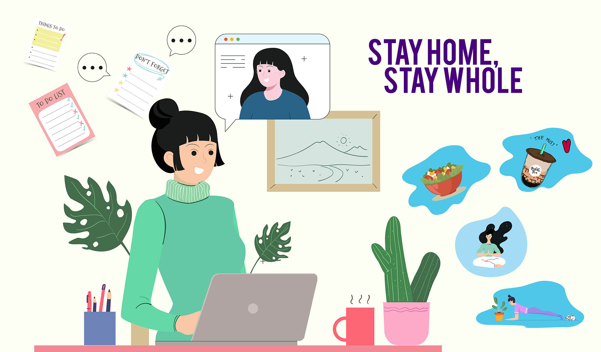 stay home stay whole