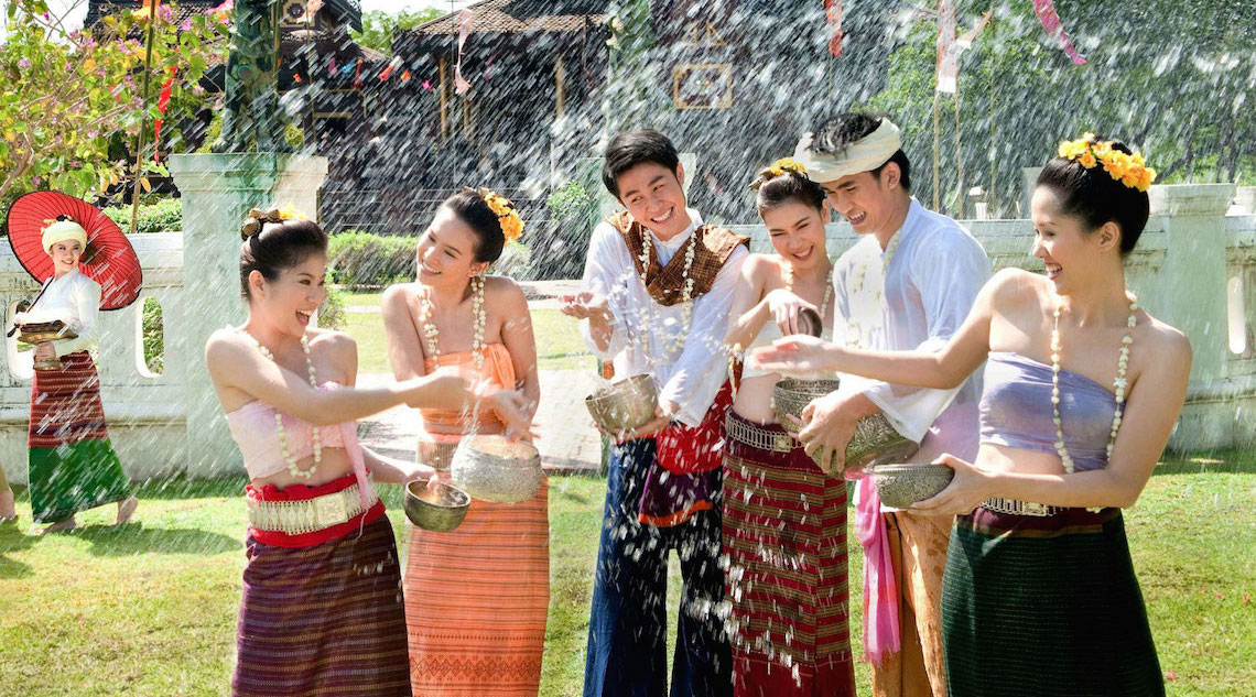 Songkran – Starting the New Year with a Splash