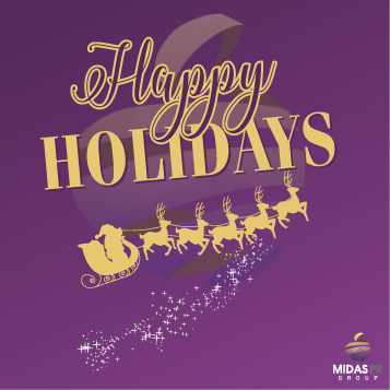 Merry Christmas and Happy New Year from Midas PR Group 2017